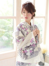 《Barretta/蒲田》☆浴衣着付け☆花火☆ねじねじアレンジ☆ バレッタ.23