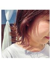 秋を楽しむ☆インナーカラー.16