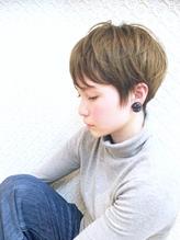 PHASE神田剛弘 美フォルム×グレージュショートボブ 50代.58