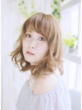 美髪デジタルパーマ/バレイヤージュノーブル/クラシカルロブ/514 シュシュ.50