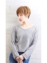 【PHASE/三畑賢人】小顔になれて簡単スタイリングなショート☆ 50代.39