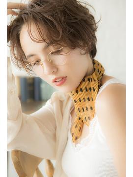 【miel hair 渋谷】大人かわいい♪小顔マッシュボブ