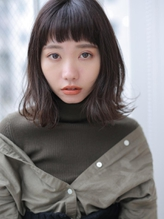 ☆クセ毛風×暗めカラー◎プチウルフスタイル☆ .34