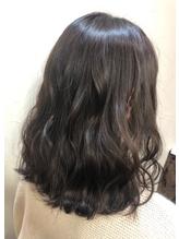 暗髪*透け感カラー.10