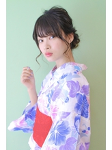 ☆浴衣ヘアアレンジ☆.45