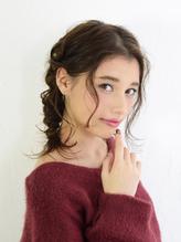 おうちデート♪簡単編み込みアレンジスタイル【EARTH田町店】.2