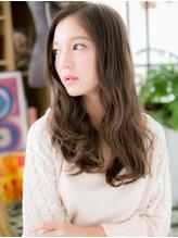 *COVER HAIR*グラデーションカラーのくせ毛風エアリーロングa .30