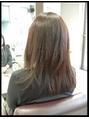 毛髪再生縮毛矯正+毛髪再生プレミアム・プラセンタカラー
