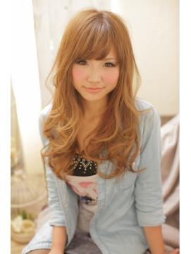 【Lee Vita】 ☆前髪と顔周りで小顔に!甘辛フェミニンロング☆
