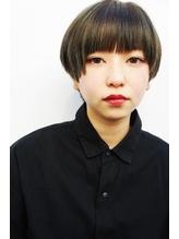 ミニマムボブ風マッシュショート【表参道/青山 drop】.50