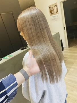酸性ストレート×美髪×艶髪×髪質生活×髪質改善