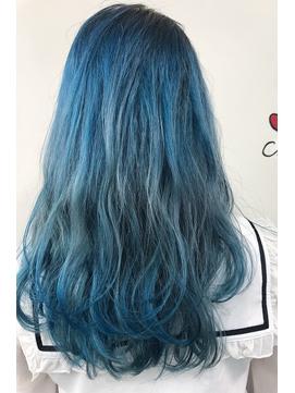 2020年春 アイスブルーカラー のヘアスタイル Biglobe Beauty