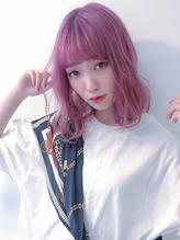 『カット + 選べるブリーチ + ベリー系Wカラー 』new style2.16