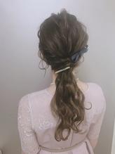 * arrange hair *  ローポニーテール.47