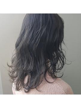 暗髪☆濃厚ブルージュカラー『air-AOYAMA榊原』
