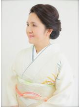 【ヘアセット専門】横浜 元町SOPO★ヘアセット 訪問着 着付1 卒園式.31
