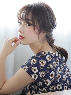 Belle BIANCA オトナローポニーアレンジ by.竹内