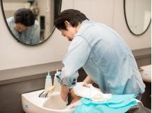 【こだわりのマンツーマン対応】一人一人と向き合い、納得のいくヘアスタイルを丁寧に作ってくれる!!