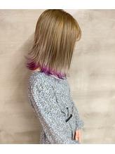 裾カラー×パープル.34