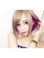 【Lapis新宿】さき吉ちゃん☆パープルインナーカラー