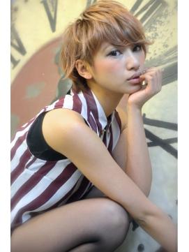 LAUREN☆外国人少年風♪ウルフミディアム tel0112328045