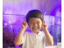 ママがカット含むMENUの施術を受けると小学生未満のお子様にカットを1回プレゼント☆(一か月以内♪)