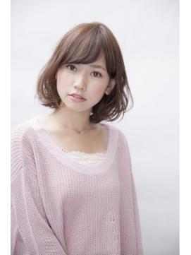 【GARDEN】フェミニンボブ×耳かけ×斜めバング(田塚裕志)