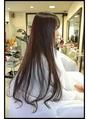 カット+毛髪再生プレミアムカラー(暗めのウォームブラウン)