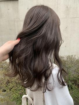 *初カラーブリーチなし!ショコラベージュモテ髪ココアブラウン