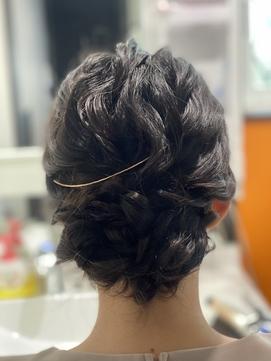 ゆるふわまとめ髪