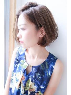 [OCEAN Hair&Life]大人かわいい☆前下がりフェミニンボブ☆