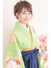 【hair coucou】袴レンタル+着付+ヘアセット 卒業式パック 七五三.38
