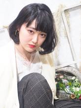 黒髪ふんわりボブ☆【altino 国分寺】 .53