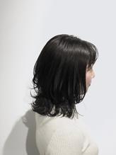 【ADDICT_YuuYa】ネイビーブラック_外ハネ_ネオウルフ.44