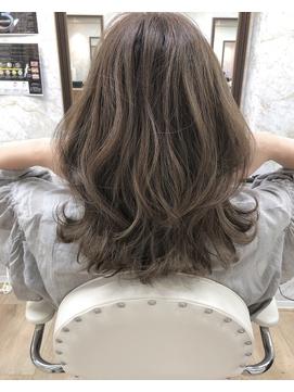 【FIGARO umeda】髪質改善ハイライトベージュレイヤーカット