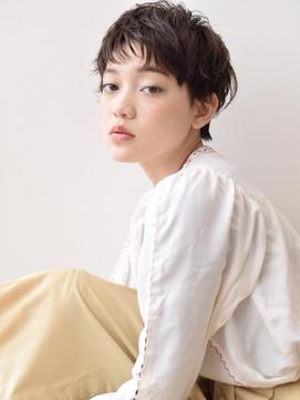 [K-two]動きたっぷり小顔ヘルシーショート×黒髪[天王寺/阿倍野]