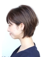 Soleil/菊地フリンジウェーブココアブラウン前髪大人かわいい