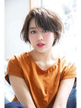 【HONEY】似合わせカットのヴェールウェーブショート(SHIHO)