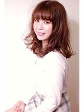 【AyaLA/佐藤哲朗】厚めバングのバルーンミディアム.5