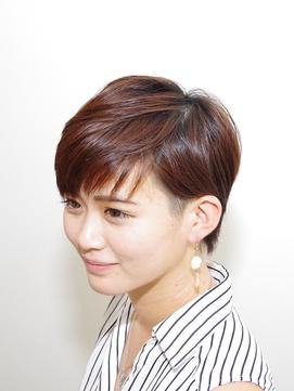 『tiehair美濃店』ひし形シルエット エアリーアシメショート