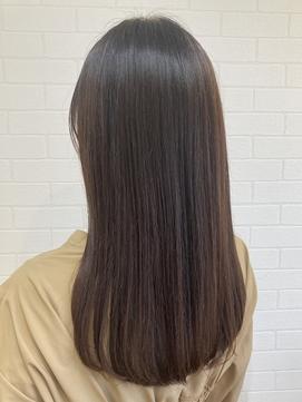 【LIBRE恵比寿】弱酸性ストレートで自然なウルツヤ髪☆