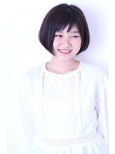 (津田沼)ショートバングが可愛い黒髪ボブ♪ 大学生.8