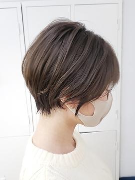 小顔美人ショートカット/ミニボブ/コンパクトショート