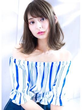 【オーシャンベージュ☆ボブ】Hayato Ooshiro