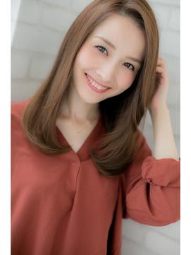 『ROMA』秋冬人気No.1!!綺麗&可愛い小顔レイヤーセミロング