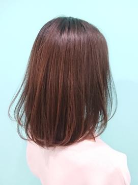 大人かわいいボブ[池袋/髪質改善/縮毛矯正/ボブ/ショート]