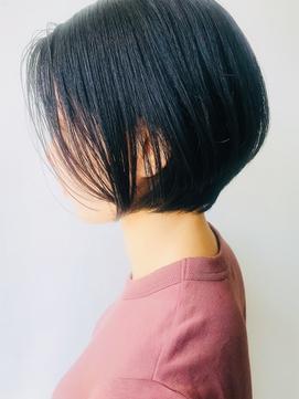 【morio 原宿】骨格矯正カット くびれショート 夏人気スタイル♪