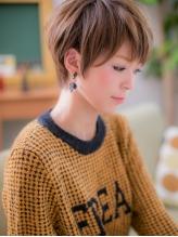 *+COVER HAIR+*…ツヤ色輝く☆ナチュラルショートb .43