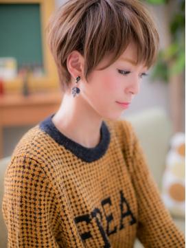 *+COVER HAIR+*…ツヤ色輝く☆ナチュラルショートb