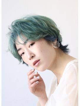 【soy-kufu】個性派ショート
